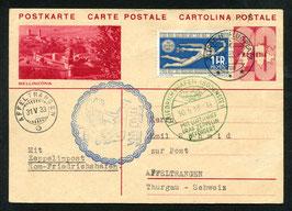 29./30.5.1933 Italien-Fahrt Landung in Rom --- Etappe Rom-Friedrichshafen mit AKSt. grün 30.5.1933-14
