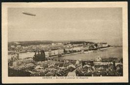 Luftschiff Graf Zeppelin über Genf