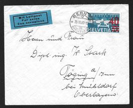 25.3.1937 F24a Einzelfrankatur nach Deutschland