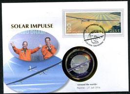 27.7.2016 Numisbrief SOLAR IMPULSE