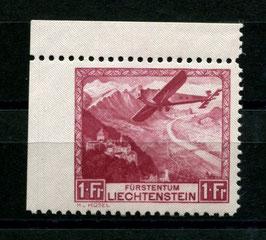 24.6.1935  Erster Postflug Vaduz-Altenrhein-Innsbruck