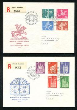 1960 Postgeschichtliche Motive und Baudenkmäler FDC 10. Mai 1960