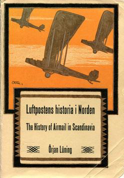 Örjan Lüning   Luftpostens historia i Norden   The History of Airmail in Scandinavia