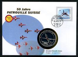 Patrouille Suisse, Frutigen, 28. April 2014 --- 50 Jahre Patrouille Suisse