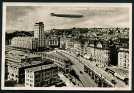 Luftschiff Graf Zeppelin über Lausanne