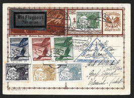 Zeppelin Landungsfahrt nach Wien 1931