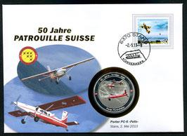 """Porter PC-6 """"Felix"""", Stans, 2. Mai 2013 --- 50 Jahre Patrouille Suisse"""