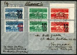 22.4.1937 FLP Brief von Kempthal nach Singapore, British Malaya via Chiasso 2