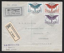 1924 Satzbrief Ikarus Ausgabe 13.5.1924