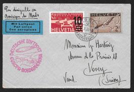 5./8.10.1936 10. Nordamerikafahrt 1936 auf Brief
