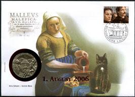 2006 Numisbrief 1. August Taler - Thema: Hexenverbrennung Anna Göldin