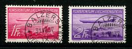 1.5.1936 Zeppeline (LZ 129 Hindenburg + LZ 127 Graf Zeppelin)