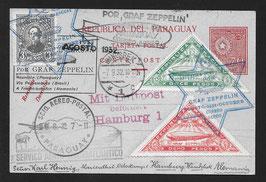 Zeppelin Rückflug von Paraguay 1932