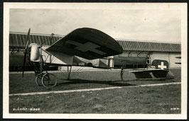 AK Blériot Flugapparat von Oskar Bider