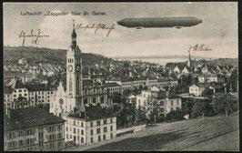 Luftschiff Graf Zeppelin über St. Gallen