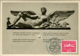 24.10.1960 FDC Maximumkarte Vereinte Nationen