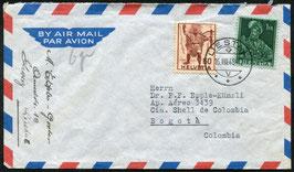 Historische Bilder 16.8.1948 Liestal nach Bogota, Kolumbien