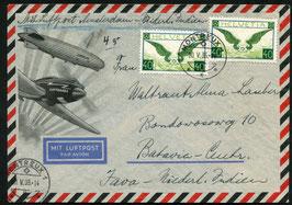 20.5.1935 FLP Brief von Montreux nach Batavia, Ned . Indien