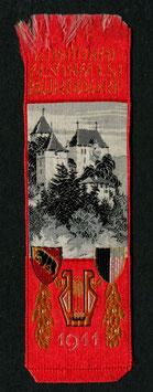 1911 Festbändel National Gesangfest Burgdorf