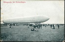 Luftschiff Graf Zeppelin bei Echterdingen, Deutschland