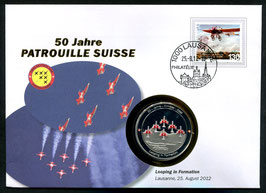 Looping in Formation, Lausanne, 25. August 2012 --- 50 Jahre Patrouille Suisse