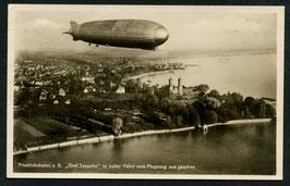 Luftschiff Graf Zeppelin in voller Fahrt
