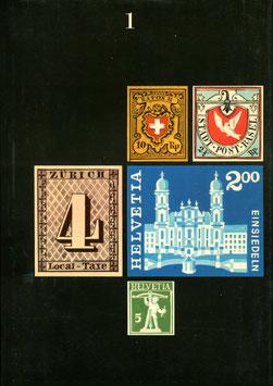 1973 Max Hertsch, Kurt Wirth Silva Verlag     Schweizer Briefmarken in 2 Bänden