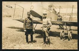 AK Flieger Leutnant Lugrin und Oblt. von Känel