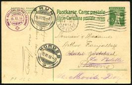 1913  Flugtag Lausanne Nr. 12 c. Lausanne-Morges auf offiz. Karte
