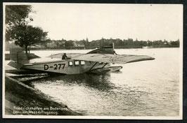Dornier Wasserflugzeug am Bodensee in Friedrichshafen