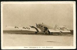 """AK Österreichische Luftverkehrs AG Junkers G 31 """"A46 Österreich"""""""