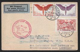 18.5.1930 Südamerikafahrt 1930, Etappe Friedrichshafen - Lakehurst, USA