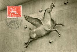 24.10.1960 FDC Maximumkarte UPU