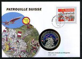 700 Jahre Schlacht am Morgarten 1315 - 2015 --- Patrouille Suisse