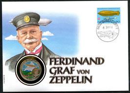 8.3.1997 80. Todestag von Ferdinand Graf von Zeppelin