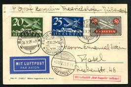2.11.1929   Fahrt nach Zürich-Dübendorf mit Landung