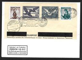 2. Österreichische Kinderdorf-Sonderballonpost 1952