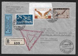 14.10.1933 Chicago-Dreiecksfahrt Fr'hafen-Pernambuco und Anschlussflug nach Rio de Janeiro