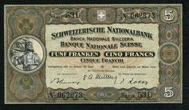 Das 5er Nötli   -  Schweiz