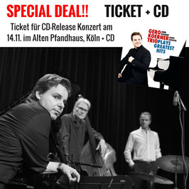 SPECIAL DEAL | Ticket für CD-Release Konzert 14.11. + CD