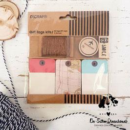 Kit tarjetas y sellos colección viajes