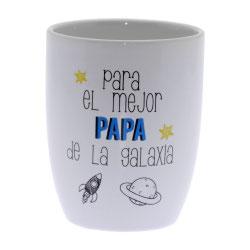 TAZA ORIGINAL PADRE  NOVO   para el mejor papá de la galaxia