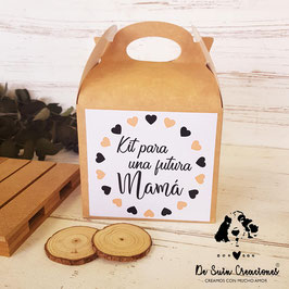 Caja con assa kit embarazada colección corazones