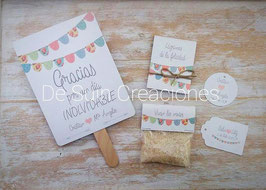 Pack Banderines pastel