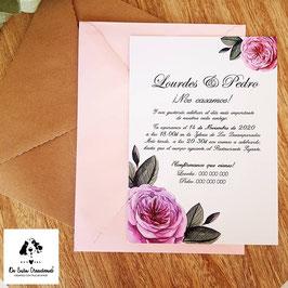 Invitación Rosalinda