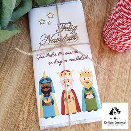 Tableta de chocolate Reyes Magos