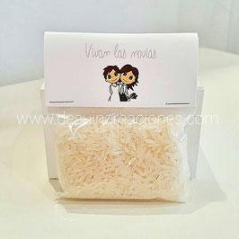 Bolsita de arroz (colección novias)