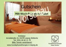 Mitt-Woch-Feierabend-Entspannungspaket- 2 Stunden ab 100€