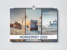 Norderney Kalender 2020 - DIN A4