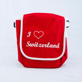 Tasche Love Switzerland - rot